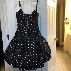Neiman Marcus polkadot dress